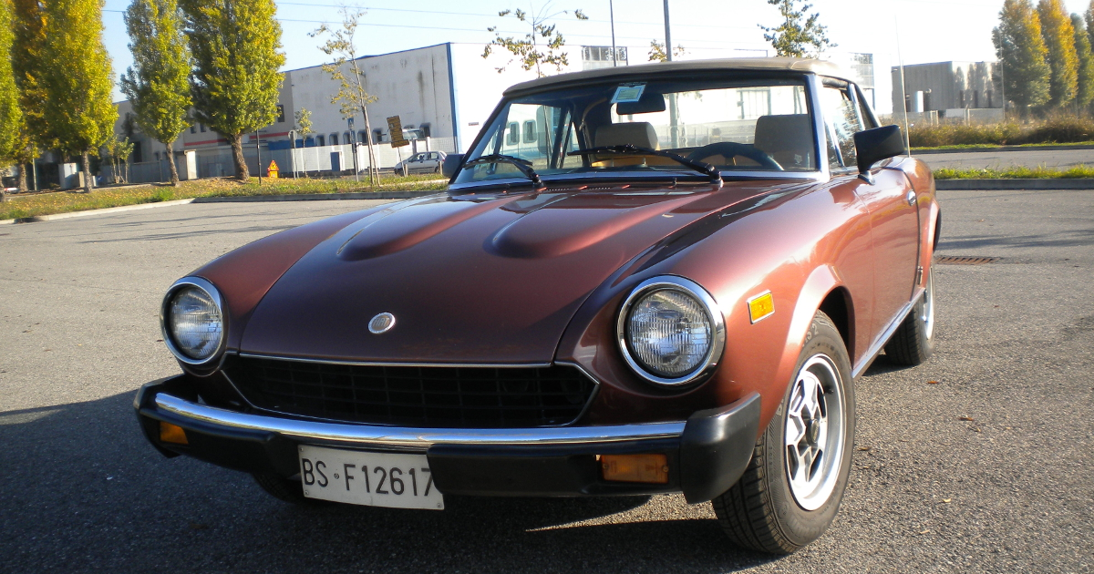 FIAT 124 spider - Compra usata - Automobile.it