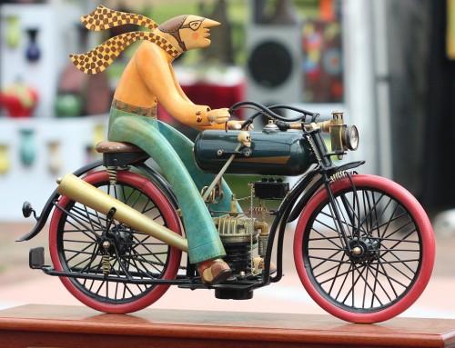 Abbigliamento per moto d'epoca