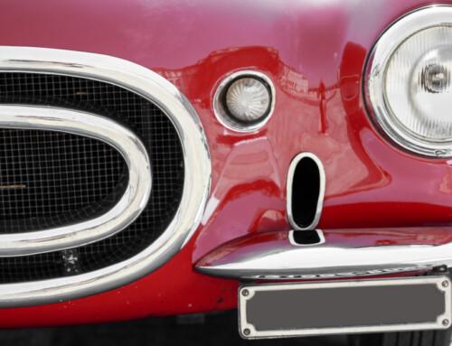 L'importanza di conservare un'auto d'epoca: dal motore agli adesivi